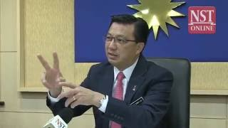 Interview with Transport Minister Datuk Seri Liow Tiong Lai