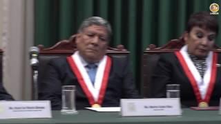 Tema: Derecho y Ciencia Política recibe a su Decano