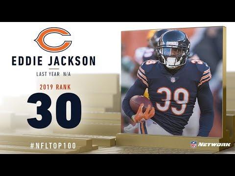 #30: Eddie Jackson (FS, Bears) | Top 100 Players Of 2019 | NFL