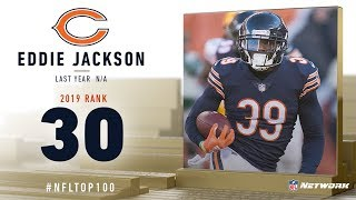 #30: Eddie Jackson (FS, Bears) | Top 100 Players of 2019 | NFL