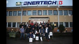 CTC обучение партнеров из Украины на заводе в Швеции. Февраль 2019.