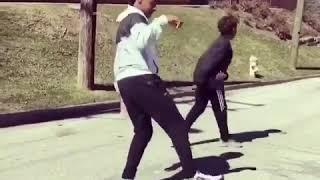 "Lebron James kids dance over ""Japan"" by Famous Dex"