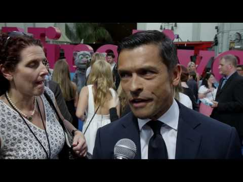 Nine Lives: Mark Consuelos Movie Premiere Interview