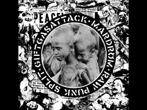 Giftgasattack + Mardröm - Raw Punk (FULL SPLIT)