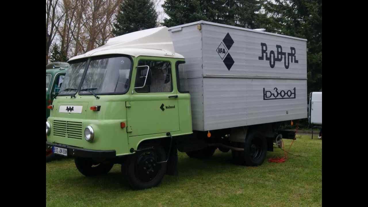 DDR IFA ROBUR LD 3001 KASTENWAGEN LKW CLASSIC TRUCK ...