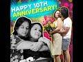 Happy 10th anniversary! | KAMI |  Ryan Agoncillo and Judy Ann Santos
