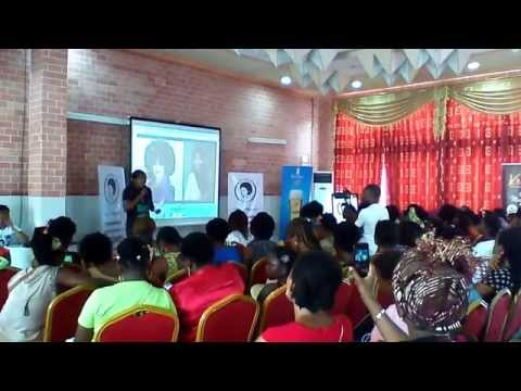 International Natural Hair Day in Douala, Cameroun