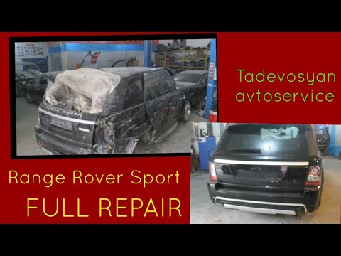 RANGE ROVER Sport Кузовной ремонт в Армении/Body Repair In Armenia