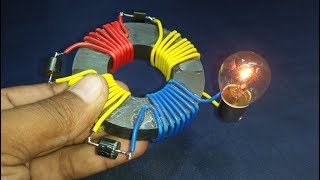 Free Energy Generator Magnet 4 Coil 100% Real New Technology in China Project