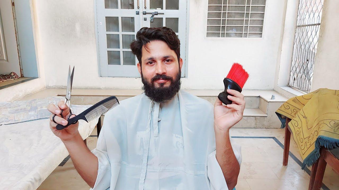 ACCIDENT K BAAD HAIR  💇♂️ CUTT ✂️ K LIE  MUSHKILAT 😕 PAKISTAN 🇵🇰 MAIN | Mr Asad