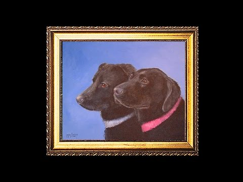 Black Labs In Acrylic, Full Production (Re-Edited)