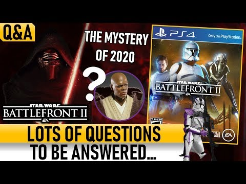 LOTS OF QUESTIONS TO BE ANSWERED... Star Wars Battlefront 2 thumbnail