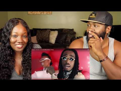 Quavo - B U B B L E G U M (Official Music Video) | REACTION