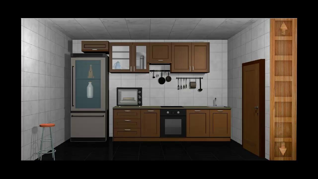 Escape Games Puzzle Kitchen Level 1 Walkthrough