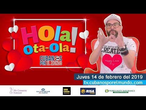 Alex Otaola En Hola! Ota-Ola En Vivo Por YouTube Live (jueves 14 De Febrero Del 2019)