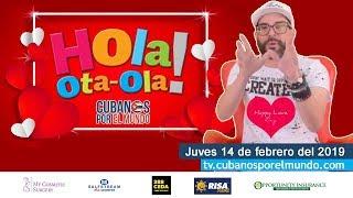 Baixar Alex Otaola en Hola! Ota-Ola en vivo por YouTube Live (jueves 14 de febrero del 2019)