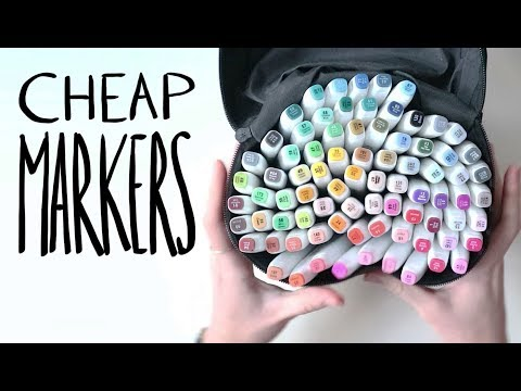 Are these CHEAP MARKERS any good? (Reviewing markers from Banggood)
