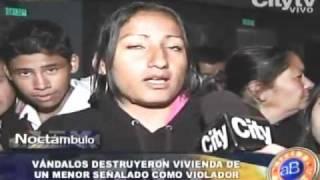 Nuevo intento de linchamiento a supuesto niño violador en Bogotá CITYTV