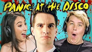 COLLEGE KIDS REACT TO PANIC AT THE DISCO Say Amen This Is Gospel Emperor S New Clothes