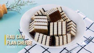 Rau Câu Flan Cheese - Cách Làm Đơn Giản Tại Nhà | Cooky TV