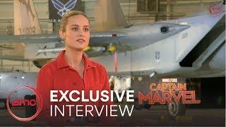 Captain Marvel Interview - Brie Larson | AMC Theatres (2019)