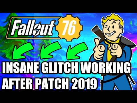 Fallout 76: Insane glitch working after patch 2019! Shoot through walls  exploit/glitch!