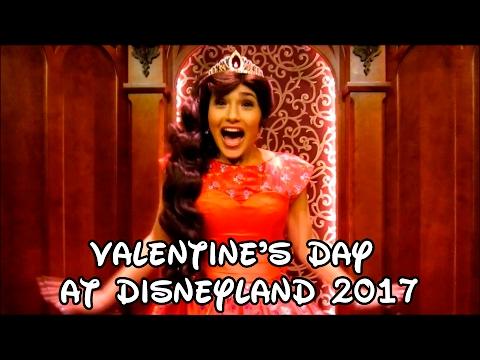 Valentine's Day at Disneyland 2017