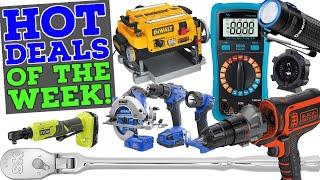 Hot Tool Deals of the Week! (DoTDotW 1/25/21)