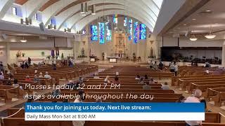 Ash Wednesday, February 17, 2021, 8:00 AM, Lent 2021