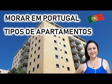 MORAR EM PORTUGAL - TIPOS DE APARTAMENTOS