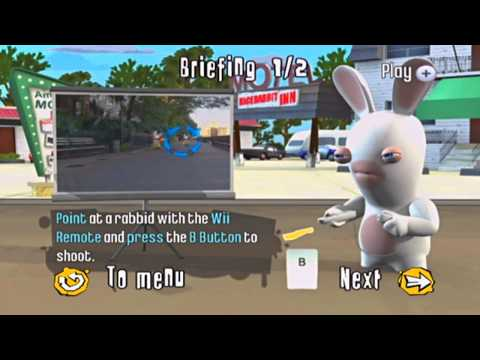 Rayman Raving Rabbids 2 Gameplay!! *Shooting Game* HD