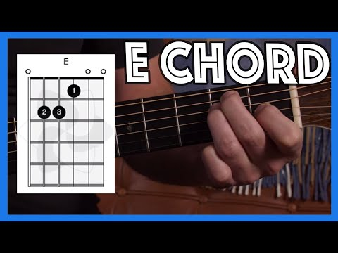 How to play E Chord on Guitar Justin Guitar Beginner Lesson Tutorial [B1-201]