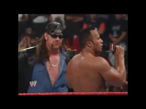 The UnderTaker, Kane and The Rock's POONTANG PIE segment