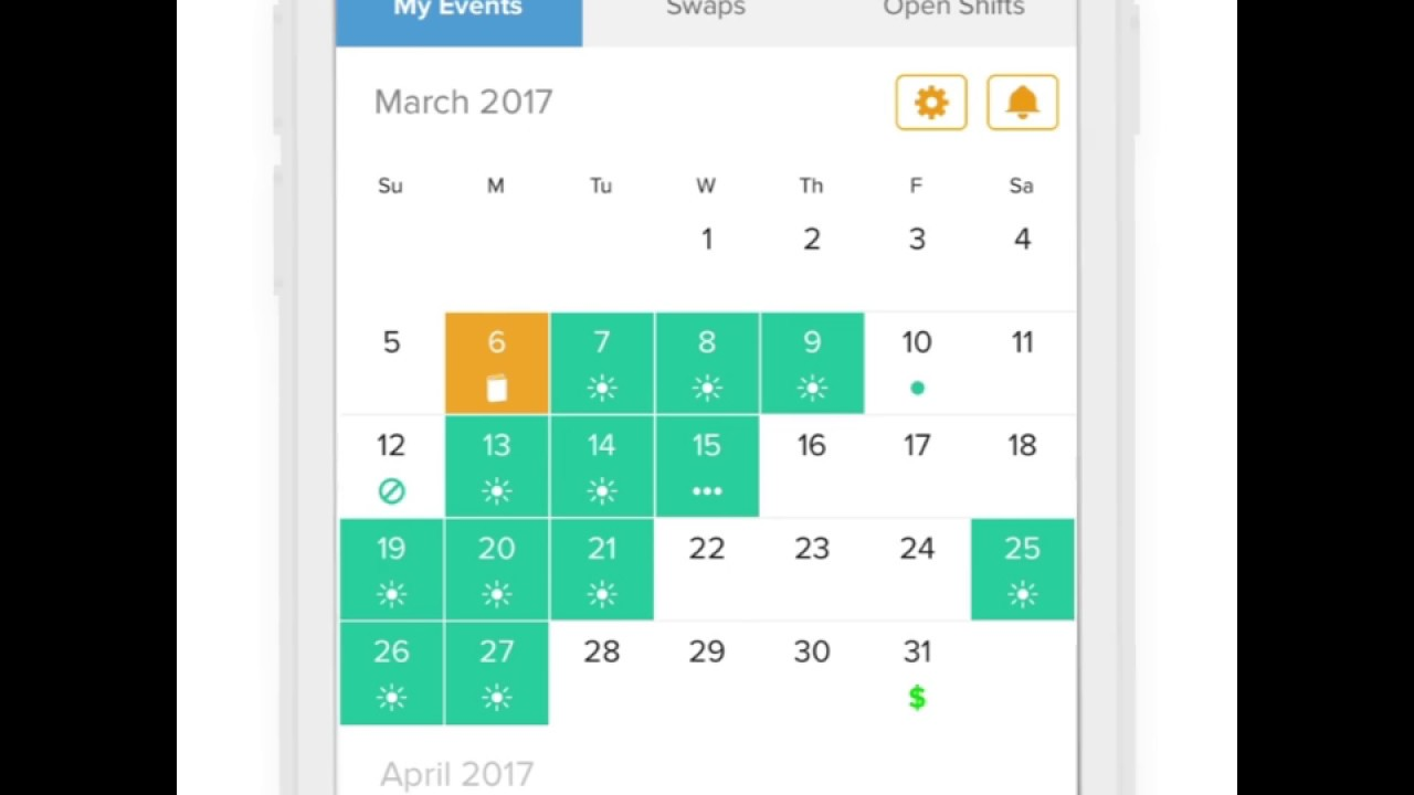 Free Calendar App For Nurses Youtube