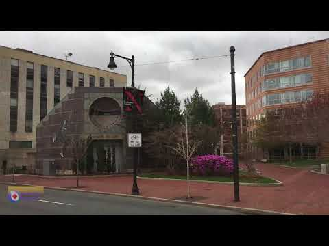 Huntington Avenue, Northeastern University Time Lapse Video - Boston Part 1 - Stadt-City Channel