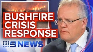 Australia fires: PM Scott Morrison responds to bushfire crisis