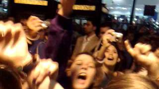 Crazy Fans At Mamma Mia The Musical - West End, London. Filmed From Backstage By Wussey