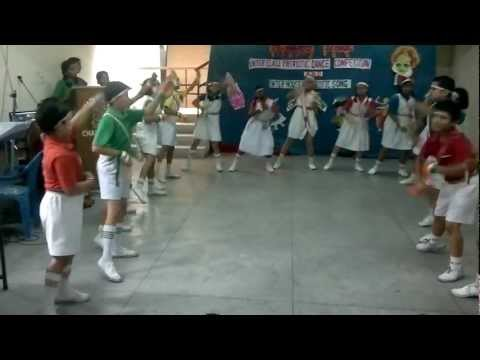 St. Marys School Sec 46 Chandigarh-Dance Based on song-Chak de india Travel Video