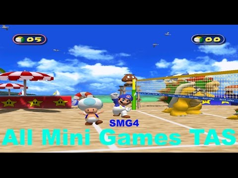 Mario Party 4 - All Mini Games [TAS]