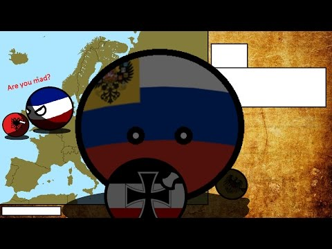 Alternative History of Europe Ep4 chaos in Europe {countryballs}