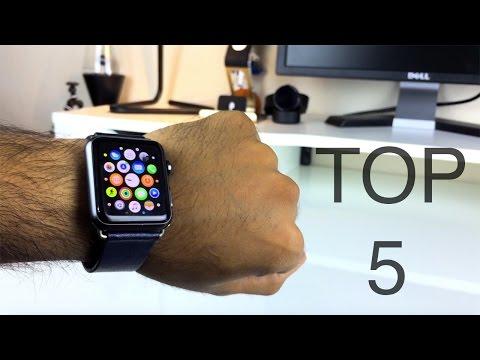Top 5 Apple Watch Apps (Sept 2015)