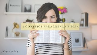 ¿Cómo leer la Biblia? 6 Consejos  - Majo Solís - Vlog