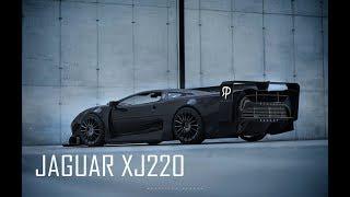 Jaguar XJ220 Black Edition Supersport