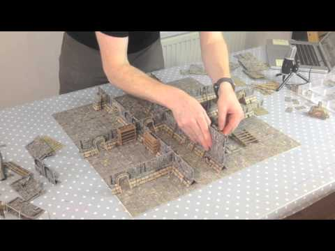 How to build Battle Systems terrain