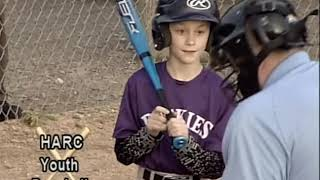 HARC Youth Baseball White Sox v. Rockies 5/15/19