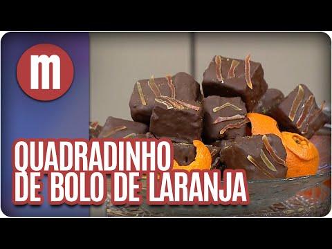 Mulheres - Quadradinho De Bolo De Laranja (11/04/16)