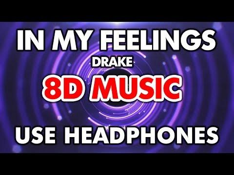 Drake - In My Feelings  (Kiki Do You Love Me Challenge Songs) - 8D MUSIC