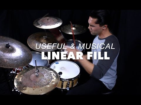 Another Tasty Linear Drum Fill- Linear Drum Lessons With Eric Fisher