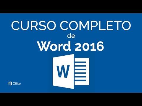 CURSO DE WORD 2016 - COMPLETO