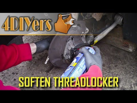 DIY: How to Remove a Fastener with Threadlocker without Heat